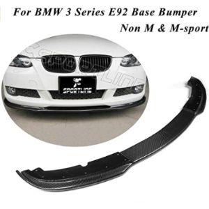 Jc Sportline Bmw E92 Front Bumper Lip