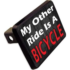 Cheapyardsigns Bicycle Trailer Hitch Cover