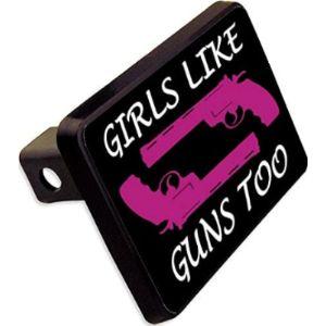 Cheapyardsigns Gun Trailer Hitch Cover