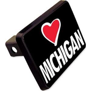 Cheapyardsigns Michigan Trailer Hitch Cover