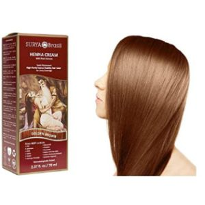 Surya Brasil Products Dye Cover Grey Henna Hair