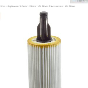 Mann Filter Cartridge Oil Filter
