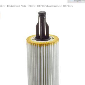 Mann Filter Seal Oil Filter
