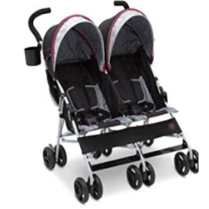 Delta Children Lightweight Tandem Double Stroller