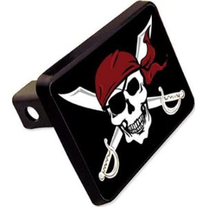 Cheapyardsigns Pirate Trailer Hitch Cover