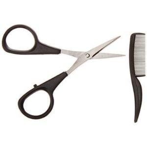 Allary Mustache Beard Scissors