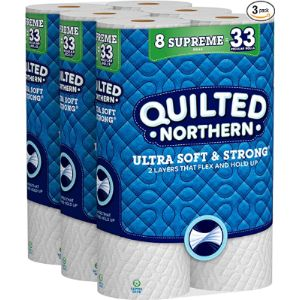 Quilted Northern Tissue Paper Sheet
