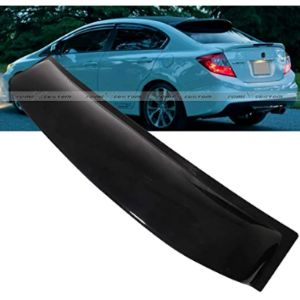 Remix Custom Honda Civic Sedan Rear Roof Window Visor Spoiler Wing