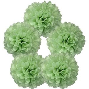 Just Artifacts Tissue Paper Flower Ball