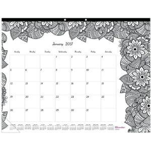 Blueline Desk Calendar