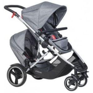Phil&Teds Modular Double Stroller