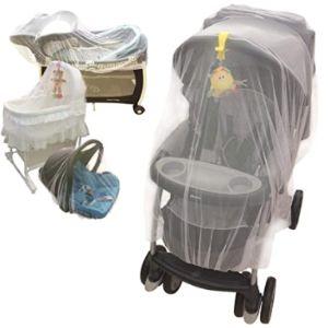 Croc N Frog Mosquito Net Baby Stroller