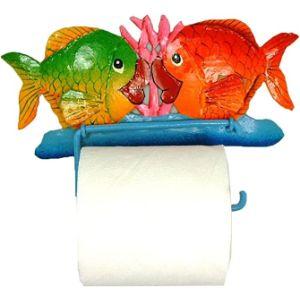 Haitian Metal Art Tissue Paper Fish