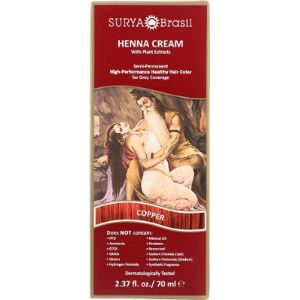 Surya Brasil Products Dye Copper Henna Hair