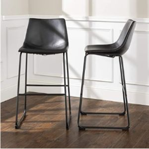 Walker Edison Furniture Company Bar Stool Chair Set