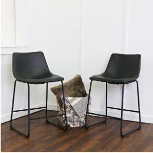 Walker Edison Furniture Company Small Stool Chair