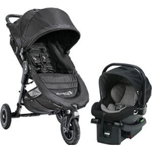 Baby Jogger Lightweight Travel System Jogging Stroller