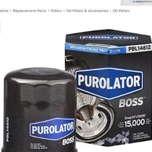 Purolator Oil Filter Micron Rating