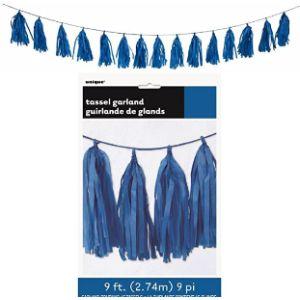 Unique Blue Tassel Garland