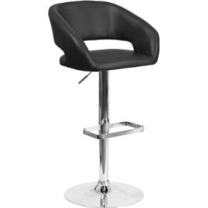 Flash Furniture Adjustable Hydraulic Stool