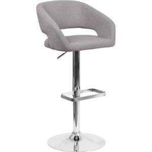 Flash Furniture Upholstered Swivel Stool