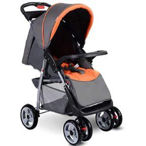 Costzon Baby Stroller Easy Fold