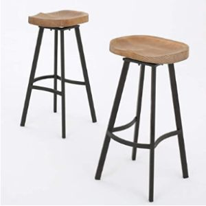 Christopher Knight Home S Wood Swivel Stool
