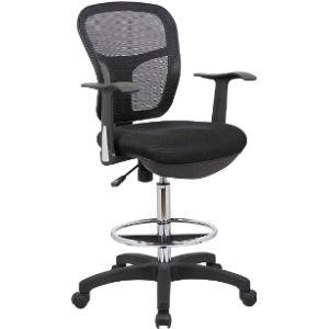 Office Factor Swivel Drafting Stool