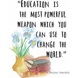 Artdash Famous Quote Nelson Mandela