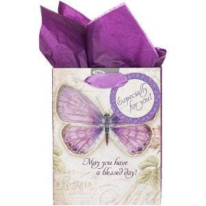 Christian Art Gifts Tissue Paper Butterfly