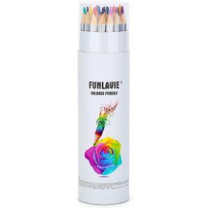 Funlavie Wood Art Colored Pencil