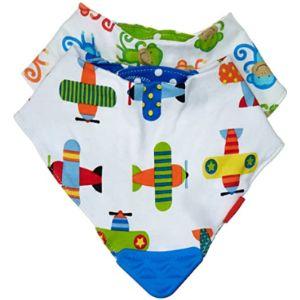 Nûby Baby Bibs Pattern With Velcro