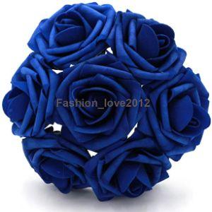 Rina Royal Blue Flower Ball
