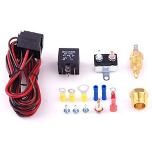 Visit The Cisno Store Electric Fan Relay Switch