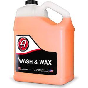 Adams Wash Wax Shampoo
