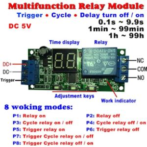 Qianson Delay Relay Switch