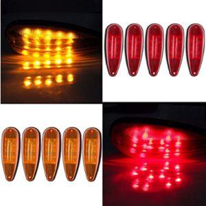 Cciyu Red Amber Marker Light