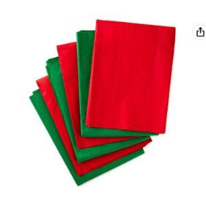 Hallmark Tissue Paper Green