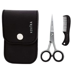 Kovira Mustache Scissors Comb Set