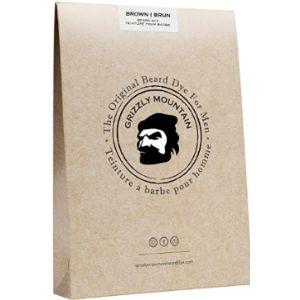 Grizzly Mountain Beard Dye Hypoallergenic Beard Dye