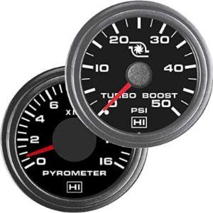 Truckmeter Reading Boost Gauge