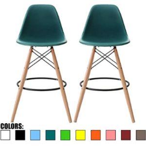2Xhome Retro Stool Chair