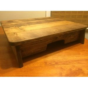 Gaglio Wood Products Spa Step Stool