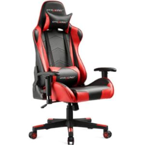 Gtracing Rolling Recliner Chair