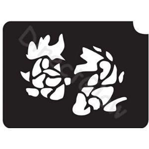 Visit The Directglow Llc Store Koi Tattoo Stencil