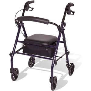 Carex Rolling Walker Transport Chair