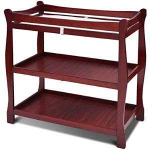 Costzon Cherry Baby Changing Table