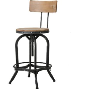 Christopher Knight Home Adjustable Metal Stool