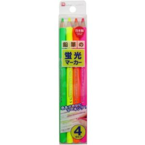Kutsuwa Colored Pencil Highlighter