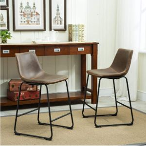 Roundhill Furniture Stool Chair Height